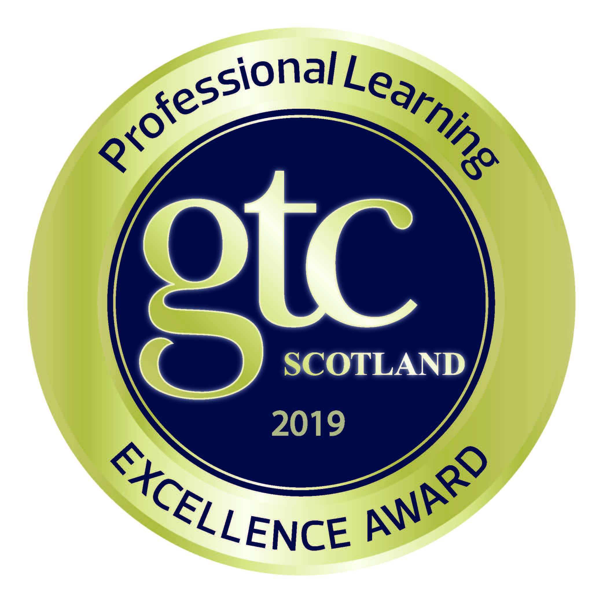 2019 gtcs excellence in professional learning award high res